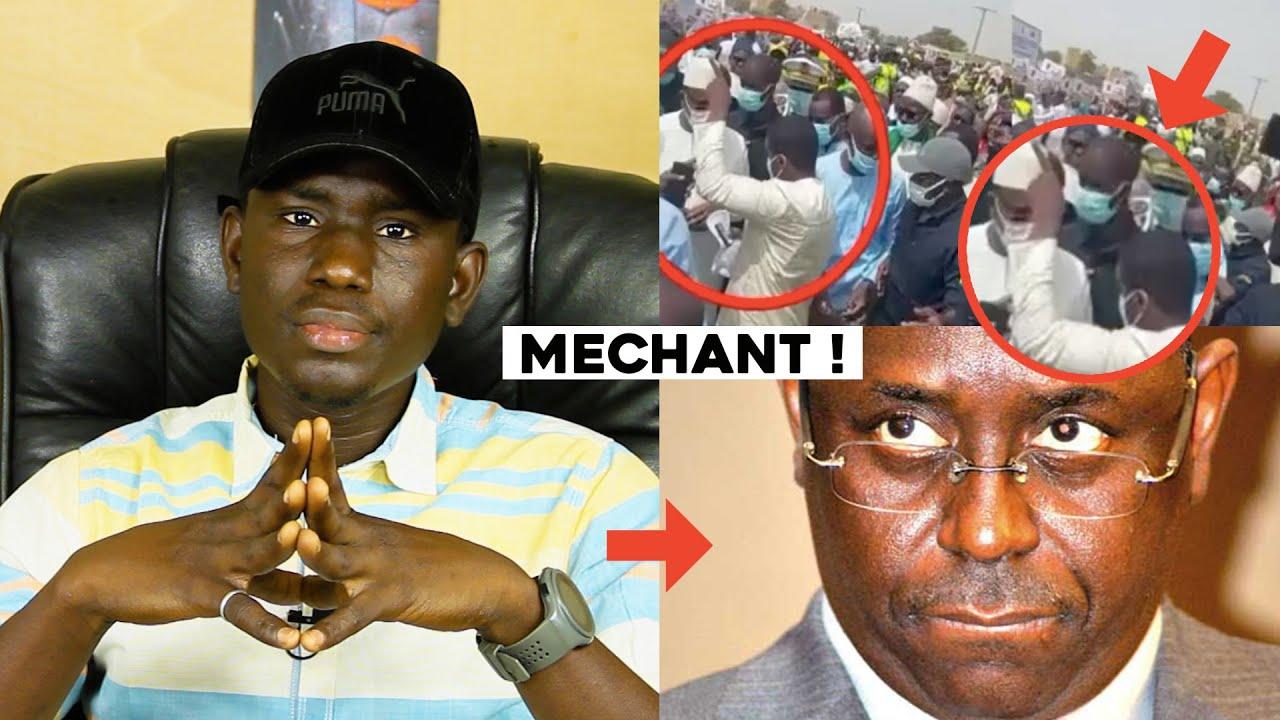 Est-ce c'est normal d'arrêter cet homme pour avoir pointer du doigt sur Macky Sall - Mon avis
