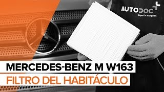 Manual de taller MERCEDES-BENZ Clase ML descargar