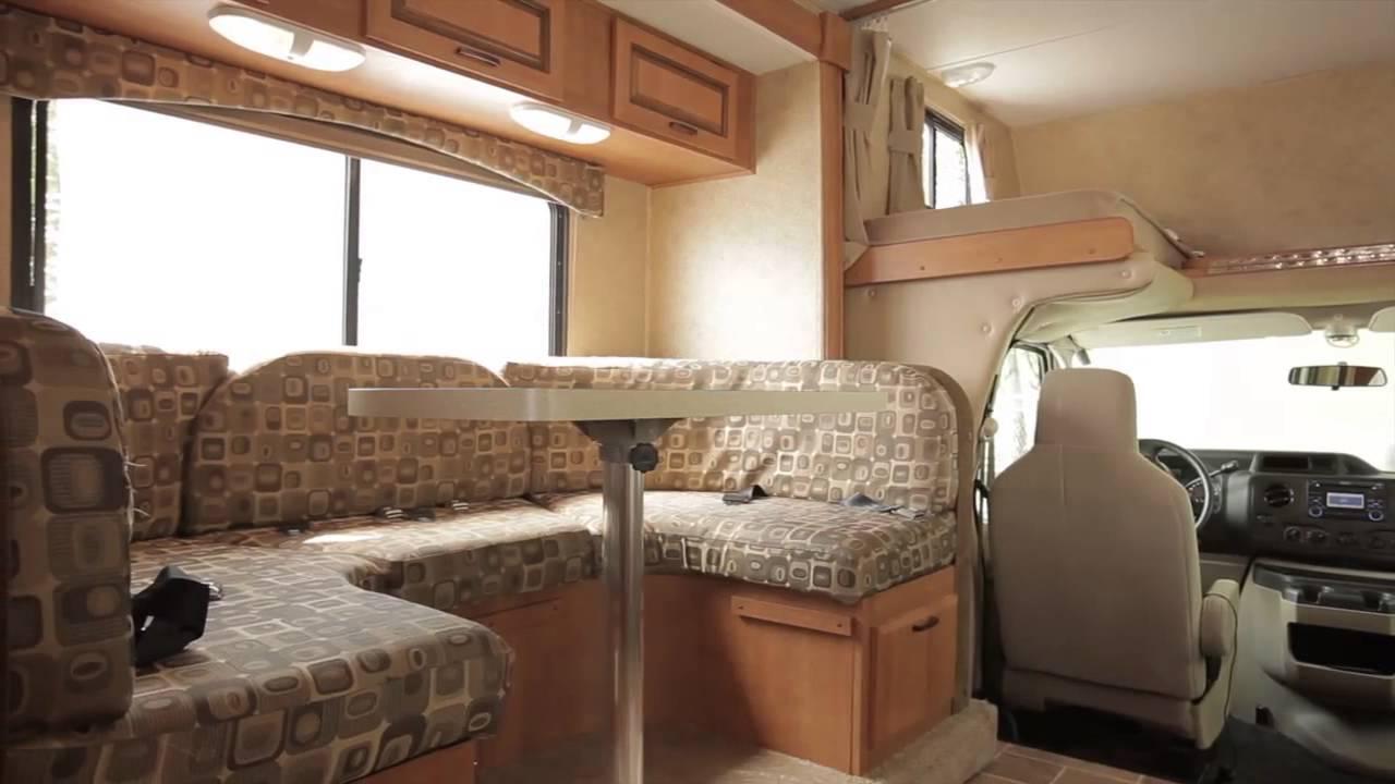 Canadream rv rentals midi motorhome mhb promotional for Rv motor home rentals
