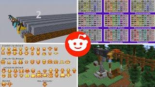 Lo vi en Reddit Minecraft - EP20 - Carreras de picos, muchos comandos y más...