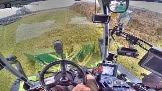 Claas Xerion 3800 Trac VC | Cab View | GPS Silage 2016 | GoPro
