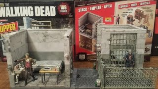 The Walking Dead Upper Prison Cell Building Set Review (hd)