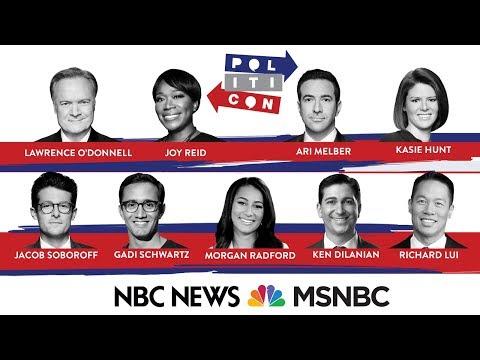 Watch Live: NBC News, MSNBC participate in Politicon