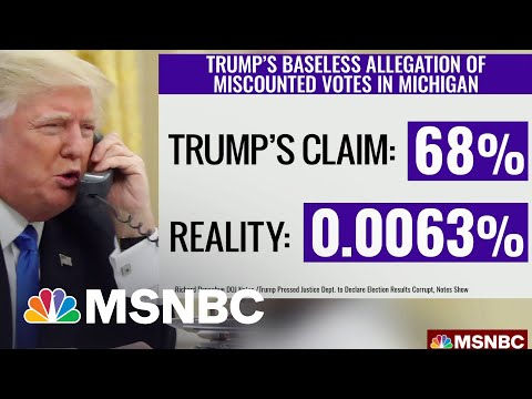 Mystal: Who Are The GOP Congressman Trump Reportedly Said Were Going To Help Him Steal The Election?