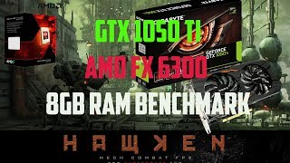 Hawken benchmark test Ultra settings GTX 1050 Ti AMD FX6300 8GB RAM