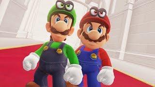 Super Mario Odyssey - Mario & Luigi Final Boss + Ending