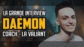 daemoN : la grande interview - Son métier de coach chez LA Valiant, l'Overwatch League ...