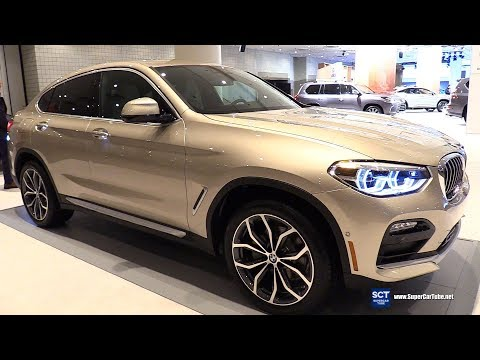 2019 BMW X4 30i xDrive - Exterior and Interior Walkaround - 2018 New York Auto Show