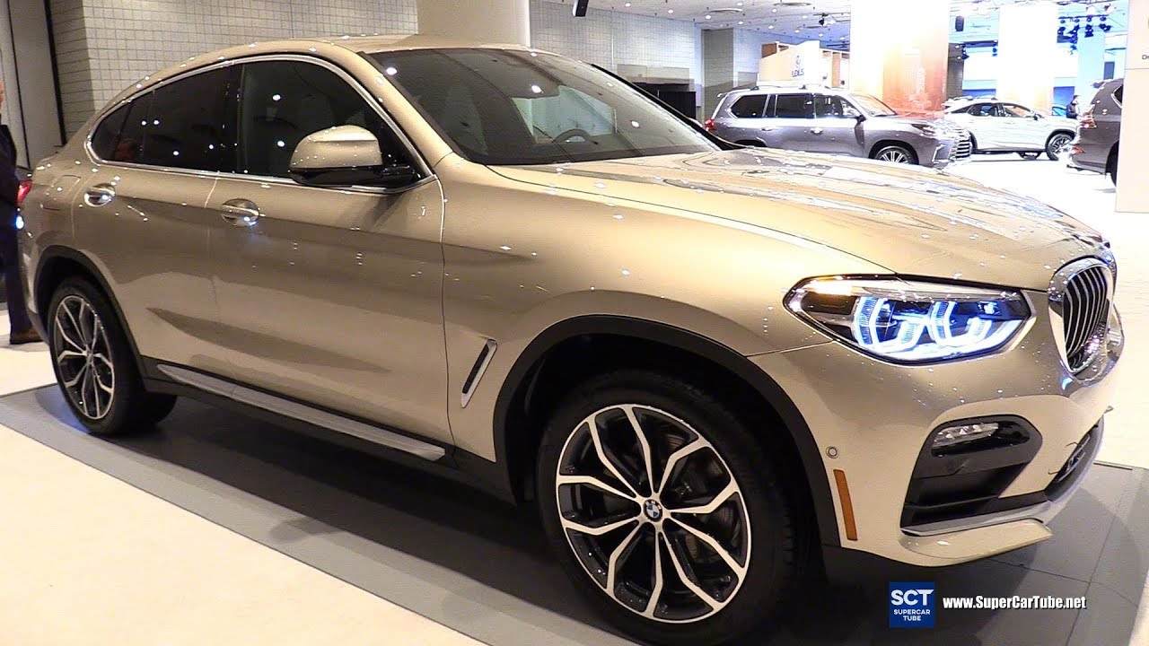 2019 Bmw X4 30i Xdrive Exterior And Interior Walkaround 2018 New York Auto Show