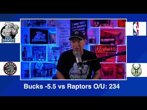 Milwaukee Bucks vs Toronto Raptors 2/16/21 Free NBA Pick and Prediction NBA Betting Tips