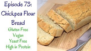 Today i'm trying out an easy bread recipe from rhian's recipes blog. it was very to make but had a distinct taste the chickpea flour. this can...