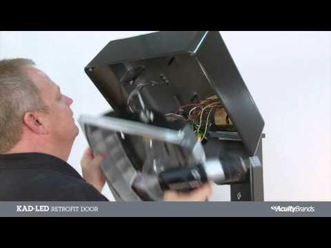 KAD-LED Retrofit Door Installation Video