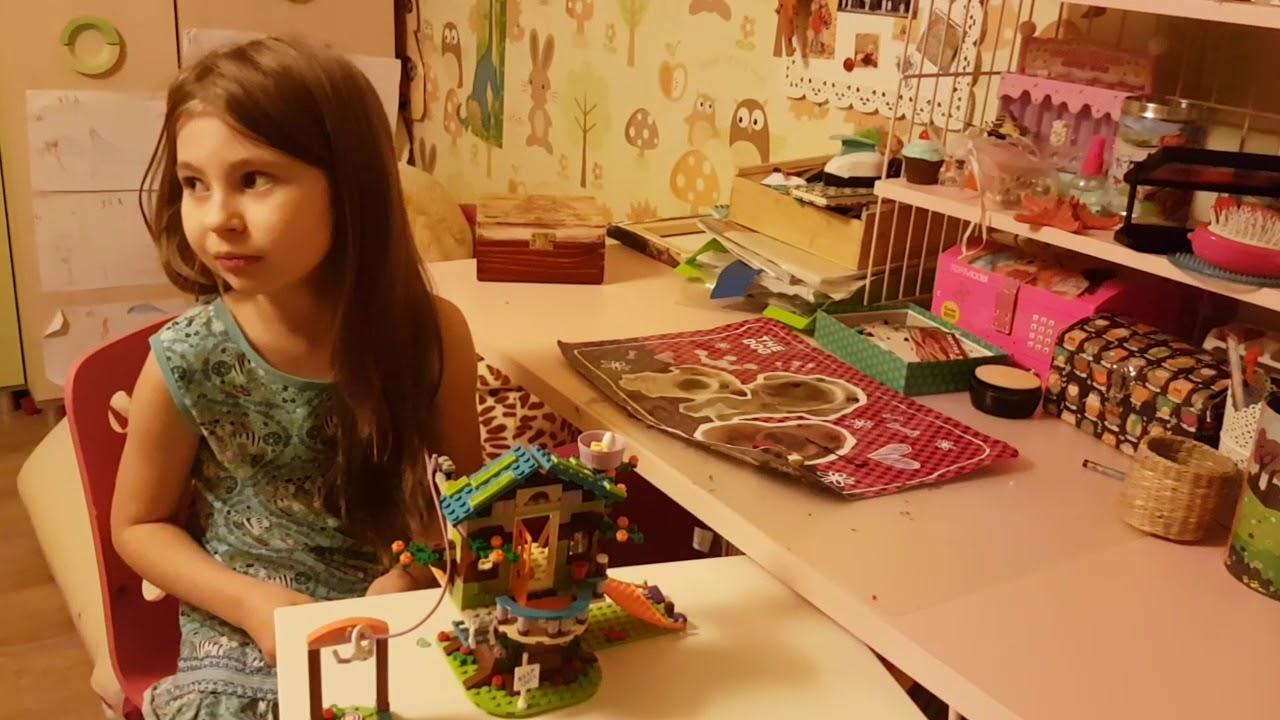 Zuzu I Lego Friends Domek Na Drzewie Mii Youtube