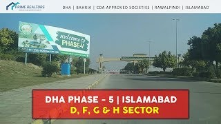 DHA Phase-5, Islamabad | D, F, G & H Sectors (Previously P&Q)