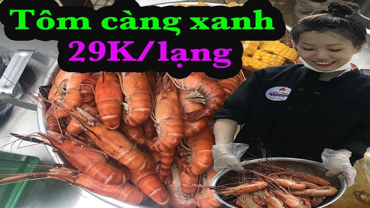 Hotgirl bán tôm càng xanh 29K kiểu Mỹ cực hút khách ở Sài Gòn