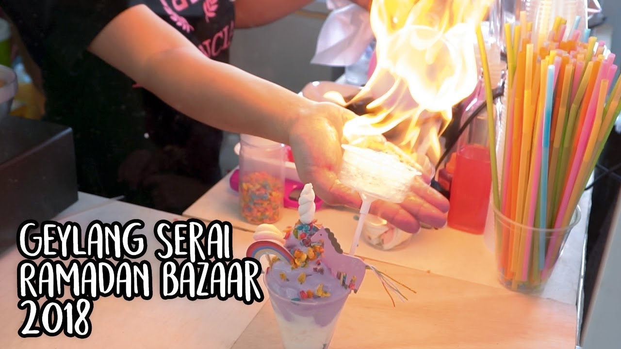 This Year S Geylang Serai Bazaar 2018 Is Lit Youtube