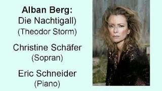 Alban Berg: Die Nachtigall - Christine Schäfer