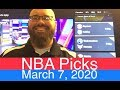 NCAAB Picks (3-4-20)  Part 2 of 2  College Basketball Predictions  NCAA Men's Daily Vegas Line