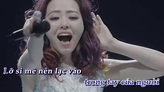 Karaoke - Họa tâm - 画心 - Trương Lương Dĩnh - 张靓颖
