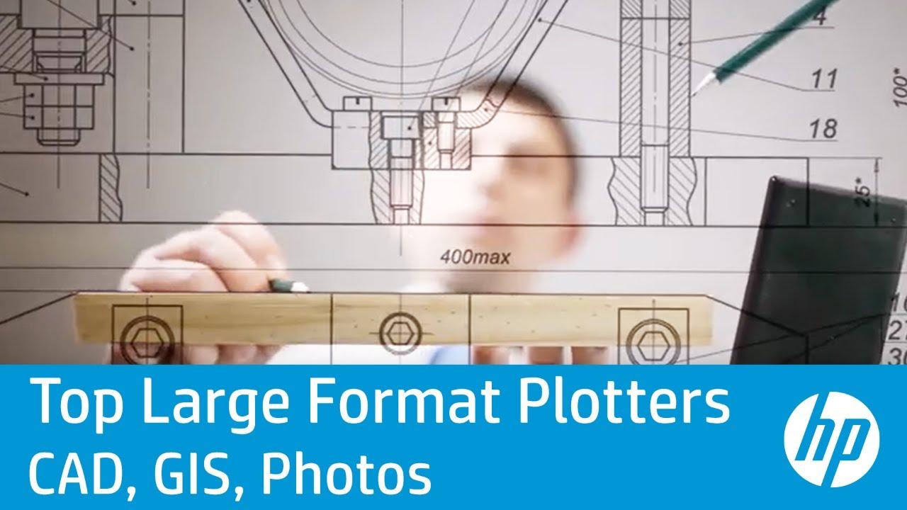 HP DesignJet Large Format Plotter Printers: Great for CAD, GIS & Poster  Printing | HP DesignJet | HP