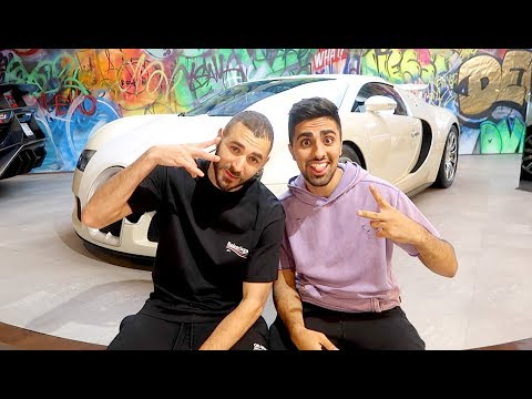BUGATTI SHOPPING WITH KARIM BENZEMA !!!