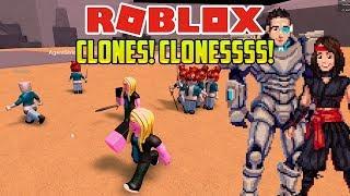 Roblox: AHHH CLONES EVERYWHERE! (Clones Tycoon 2)