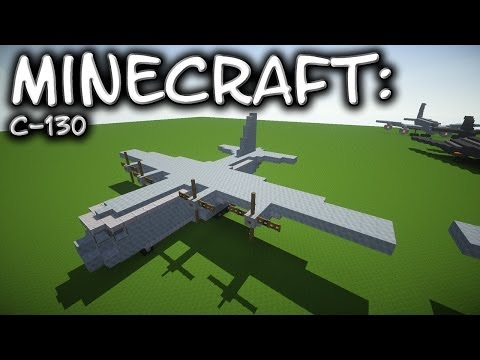 how to build a ac130 in minecraft