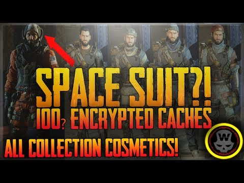 100~ Encrypted Cache Opening! SPACE SUIT?! Full collection Cosmetics (The Division 1.7)