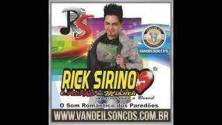 RICK SIRINO  -  O SOM ROMÂNTICO DOS PAREDÕES - CD 2015