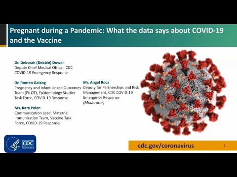 Pregnant during a Pandemic: What the data says about COVID-19 and the Vaccine