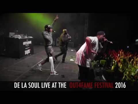 360ig.de - LIVE on STAGE - DE LA SOUL at the OUT4FAME Festival 2016