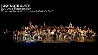 Footnote Suite by Amit Poznansky | TAU Wind Band / Uri Reisner, Cond.