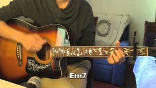 """Mistletoe"" - Justin Bieber (Beginner Guitar Cover) + Chords/Tutorial"