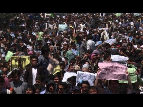 Kabul locked down as minority Hazaras protest over power line