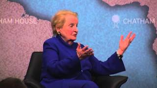 The Power of Diplomacy US and EU Approaches -- Madeline Albright