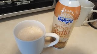 How to use International Delight One Touch Latte
