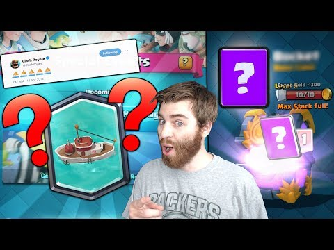 """NEW"""" RIVER"""" CARDS COMING NEXT UPDATE?!?   Clash Royale   POSSIBLE NEW UPDATE HINT!!"""