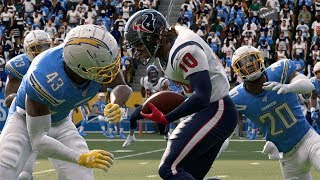 Los Angeles Chargers vs Houston Texans Madden NFL 20 Week 3 NFL Sunday 9/22/2019