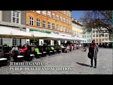 Study in Denmark - Judith from Uganda (Public Health & Nutrition)