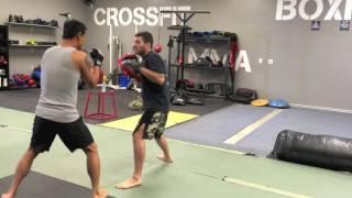 Ken DuBois Martial Arts, Boxing, Kickboxing Training Demo