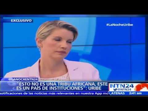 """""""No me pongan a mí en la noticia esa de que arranco para La Habana"""": Álvaro Uribe"""