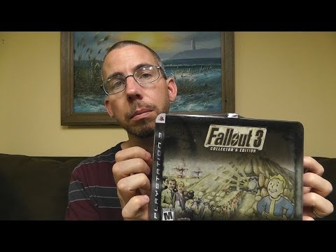 ASMR Beer Review 28: Young's Double Chocolate Stout & Fallout 3 Collector Edition Lunchbox Unboxing