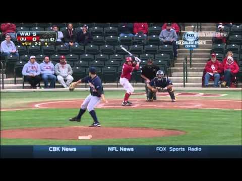 WVU Baseball: OU Highlights Game 1