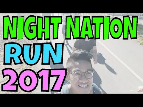 NIGHT NATION RUN 2017 VANCOUVER BC | VLOG