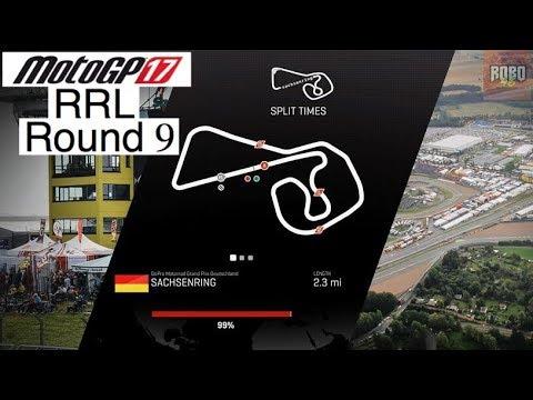 MotoGP 17 | League Racing (RRL) Round 9: Sachsenring