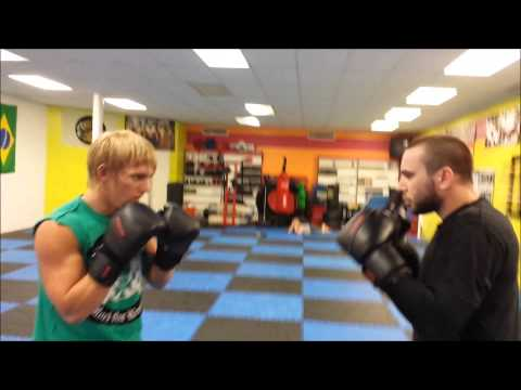 Dragon's Den MMA Defense Striking Drills
