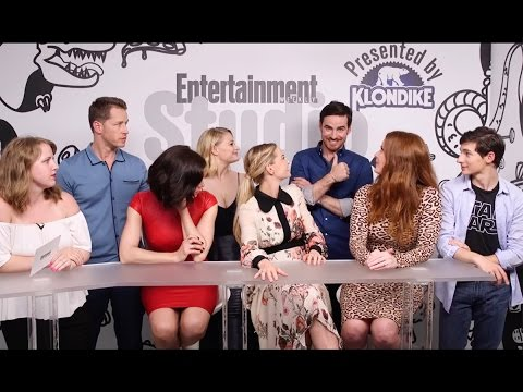 Once Upon a Time SDCC 2016 EW Interview