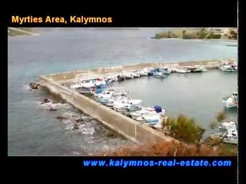 Myrties Area, Kalymnos Island