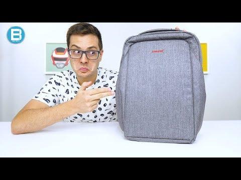 NIINGUÉM vai TE ROUBAR com essa MOCHILA! TIGERNU Laptop BAG!