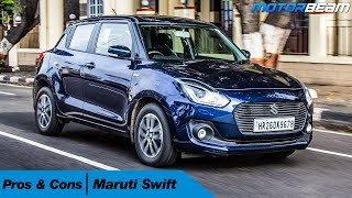 Maruti Swift - Pros & Cons | MotorBeam Video